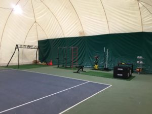 area funzionale tennis junior milano