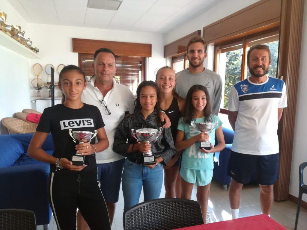 giocatori junior premiati circuito australian 2019