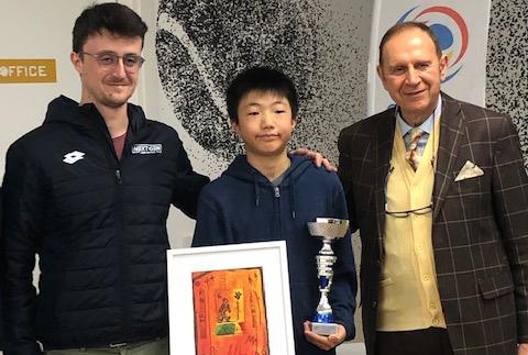 robin guo vince rodeo u14 oltrepo academy pavia